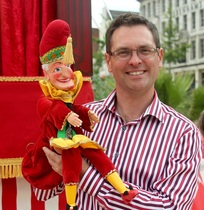 Punch and Judy for hire in Mansfield Paul Temple