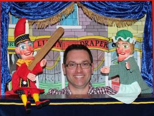 Paul Temple Punch & Judy show Nottinghamshire