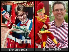 Punch and Judy Professor Paul Temple