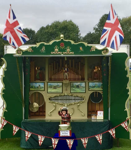 Fairground Organ for Hire Paul Temple Entertainments